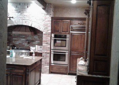 Kitchen Cabinet Staining