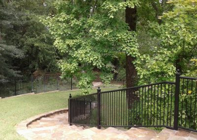 Metal Fence Painting