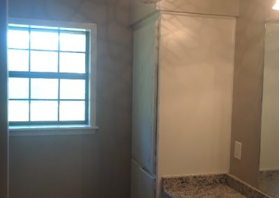 After Interior Painting Residence Guest Bathroom at Thyme Rd. in New Diana, TX