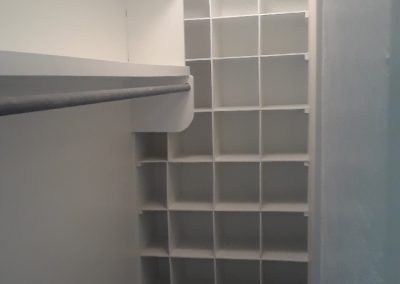 After Interior Painting Residence Closet in New Diana, TX